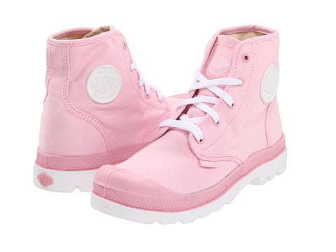 palladium boots pink